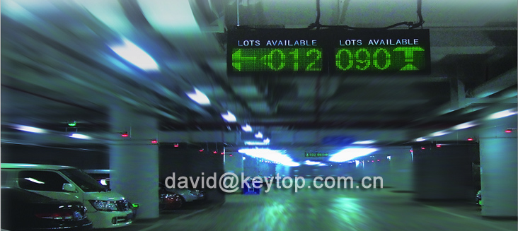 KEYTOP Innovative Single-space parking guidance system - Parking guidance system with high accuracy rate for Airport car park