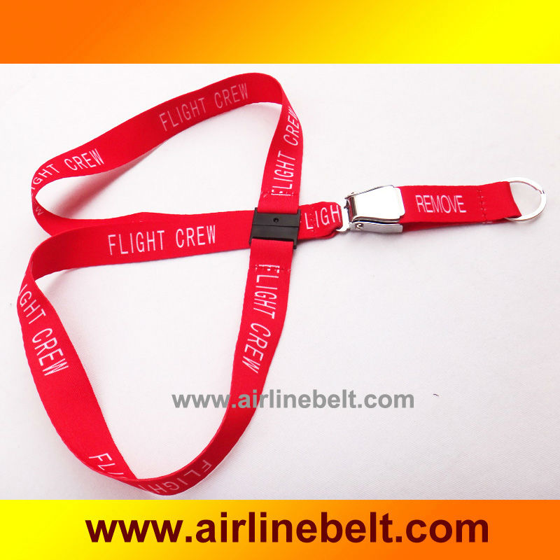 Follow Me/airplane buckle keychain/airplane remove before airline lanyard/flight crew