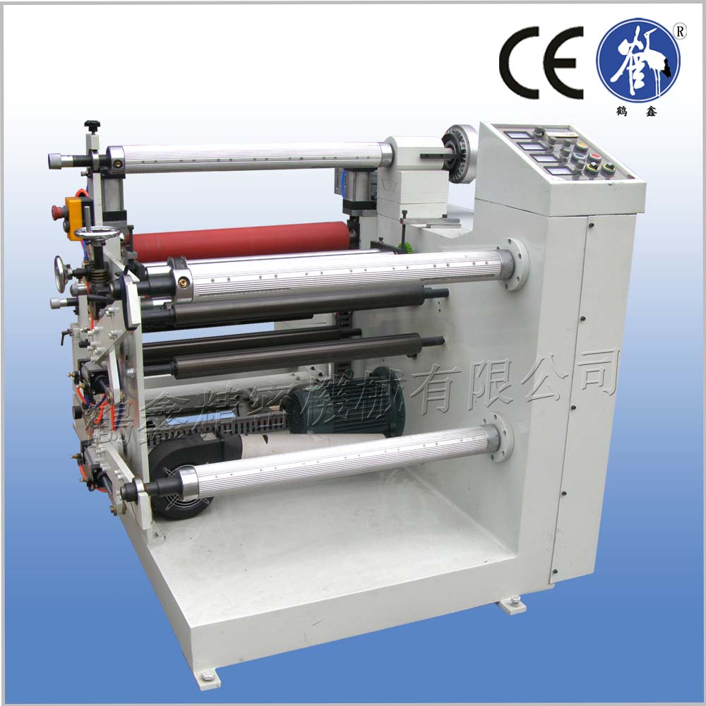 automatic film slitting machine with laminating function