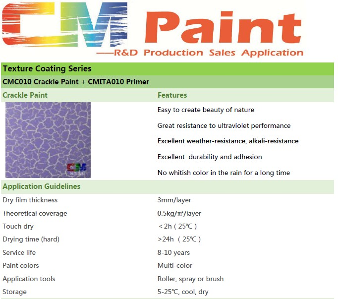 crackle texture finish indoor wall paint, odor free paint ,interior wall texture finish paint