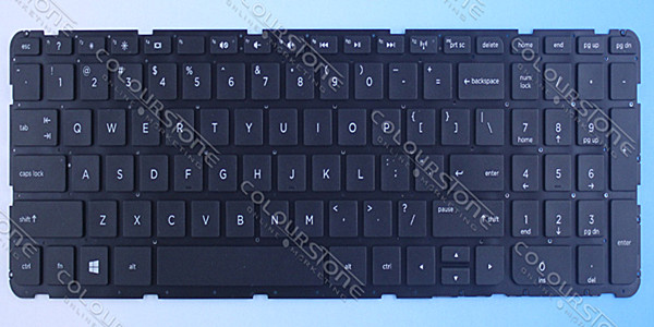NEW laptop keyboard for HP 15-E Black without frame US layout