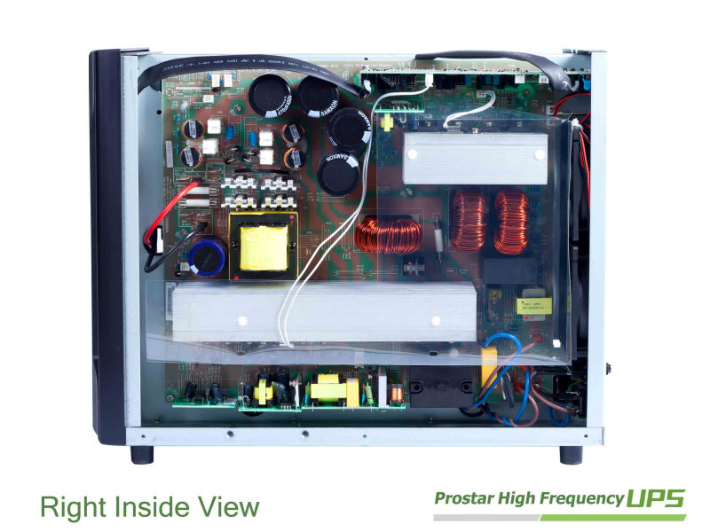 High Frequency Online UPS 3KVA with output power factor 0.8