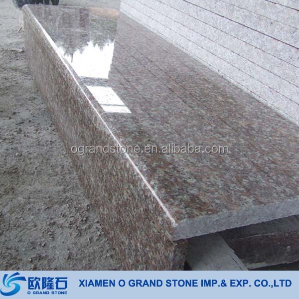 G654 Padong Dark Granite Outdoor Stair Steps Tread Tiles