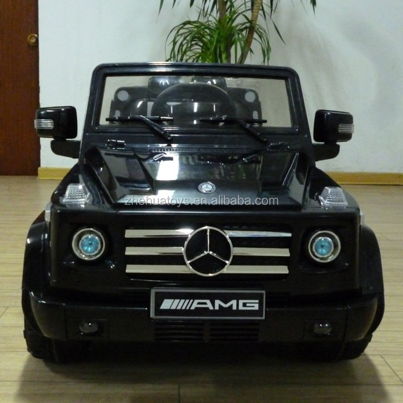 2014 new 12v electric car toy ride on mercedes benz amg for Mercedes benz g55 power wheels