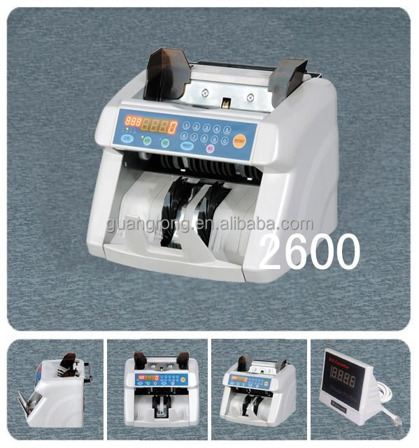 Money Counting Machine with MG detection GR-2600 EURO/USD