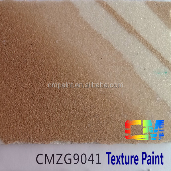 Water base sand stone texture interior and exterior coating