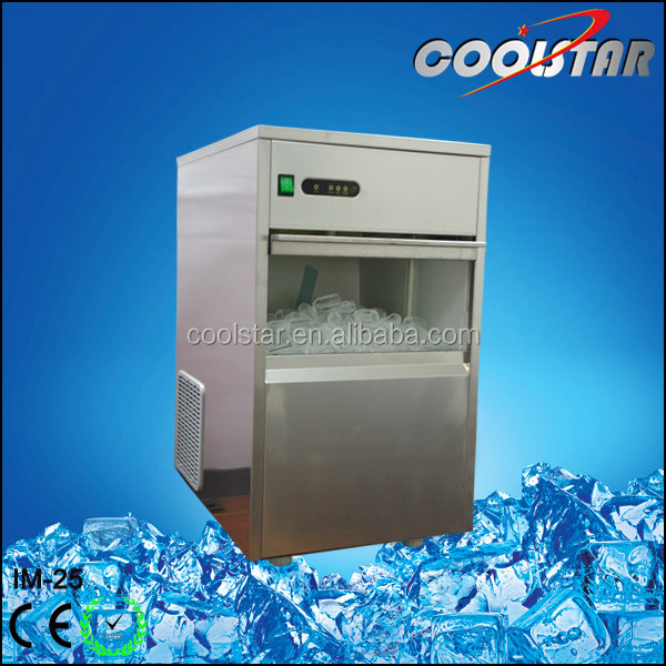 60kg cubic type Ice Maker-Spray Mode ice making machine