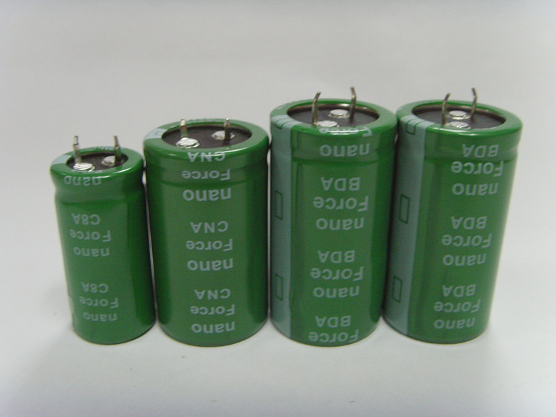 Nano Force super capacitor 2.7v250f ultra capacitor 2.7v250f electronics components