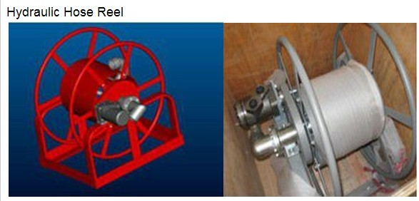 Watering hose reel,long service time,manual,motor and hydrualic drive,1' or1.5' diameter