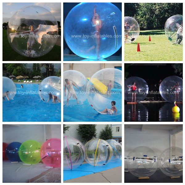 Inflatable pool toys water walking balls