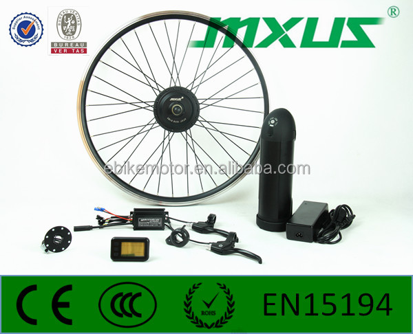 250w newest waterproof connection mxus electric motor kit
