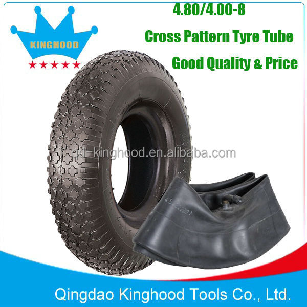 Low price Quality Wheelbarrow tyre with Tube