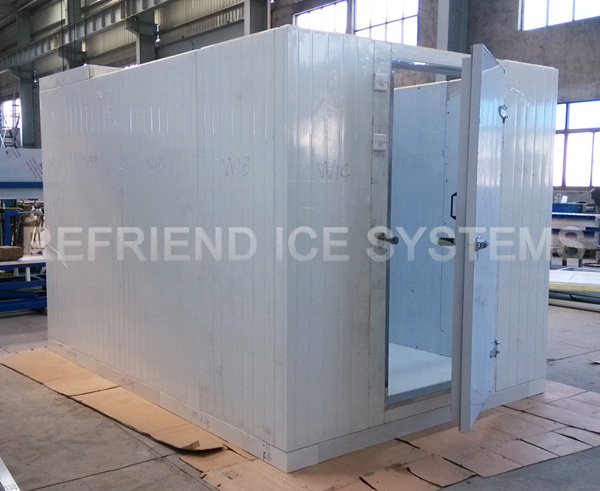 3TPD Stainless Steel Flake Ice Maker With Ice Bin