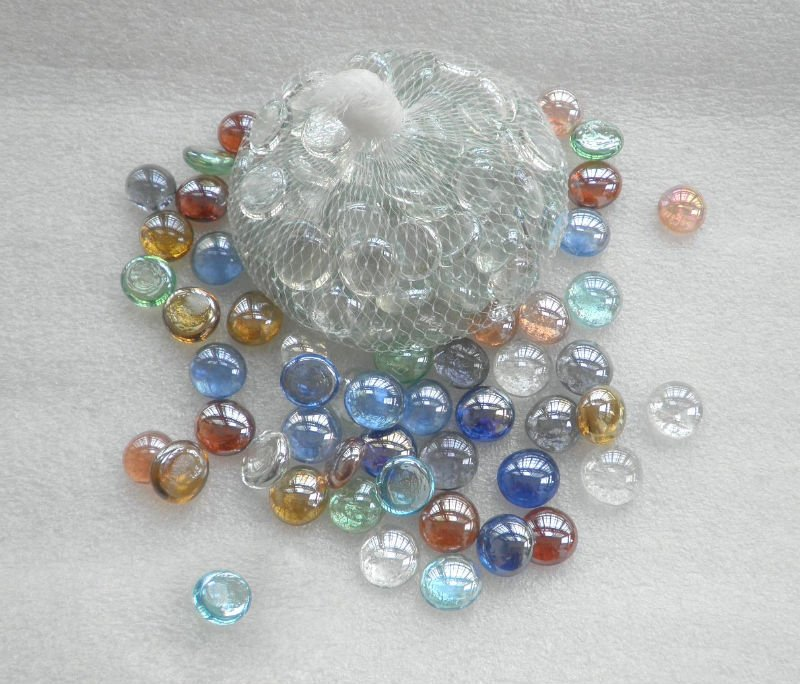 Bulk Colored Marbles : Floral accessories glass gems wholesale decorative