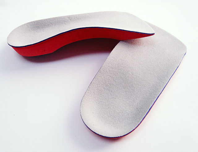 3/4 EVA insole arch support cushion orthotic shoe insole