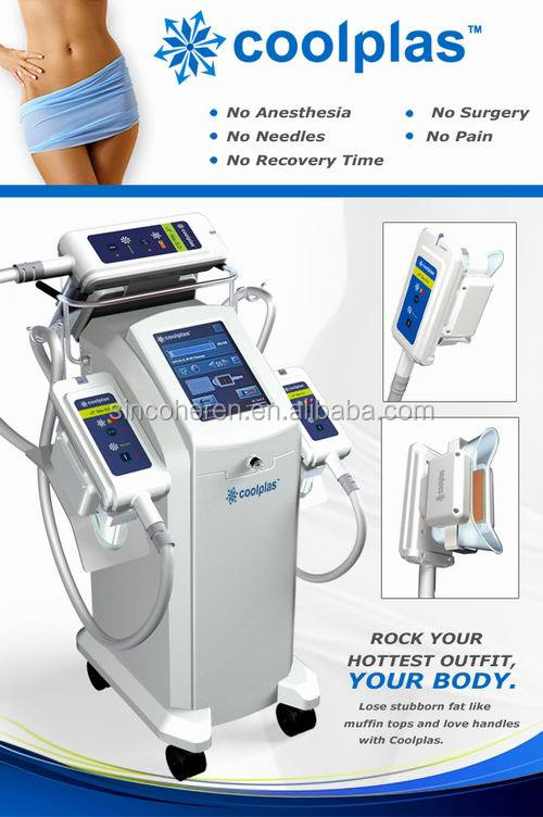 Coolplas cooling beauty Machine Sincoheren SCV-100 fat freezing shapes cellulite machines