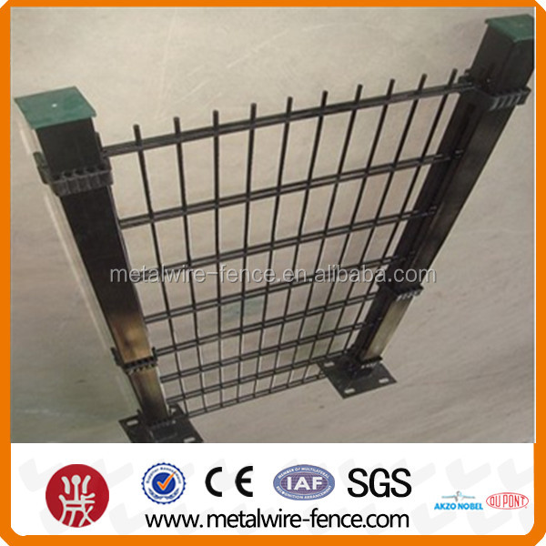 6/5/6 powder coating double wire fence manufacture