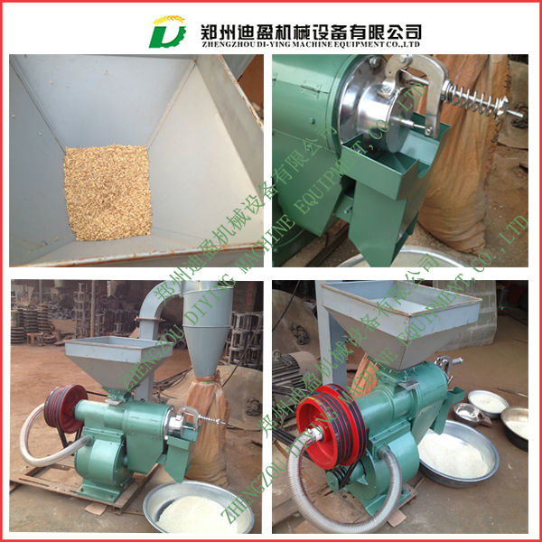 1000kg/h Combined rice milling machine / Rice husker and miller/ Rice processing equipment
