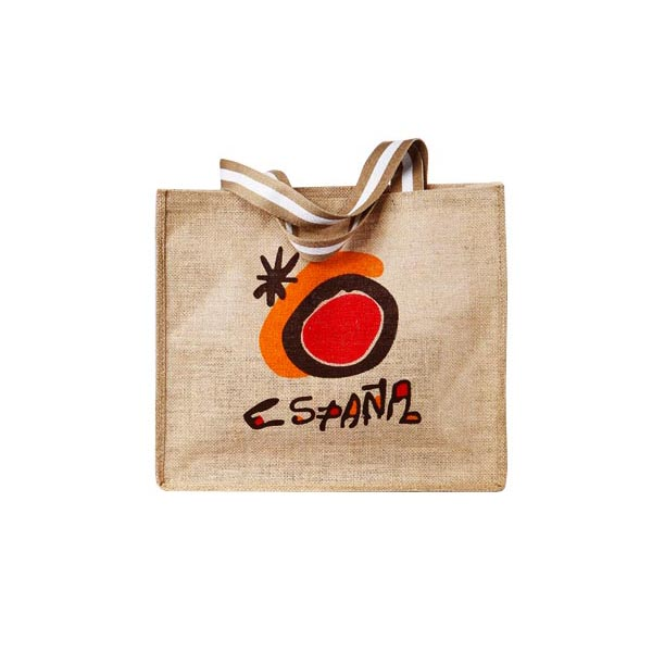 Eco-friendly Printed Natural Jute shopping Bag, jute bag,jute bag wholesale