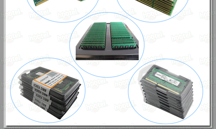 Factory Wholesale Desktop laptop DDR2 memory rams nanya chip