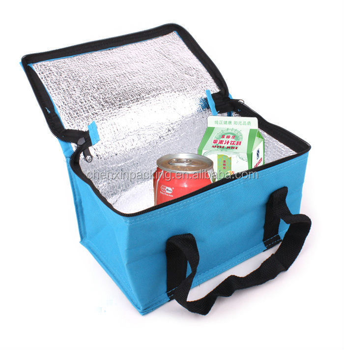 non woven camping cooler bag for drinks & wines