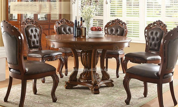 wholesale italian style dining room furniture hand carved wood dining
