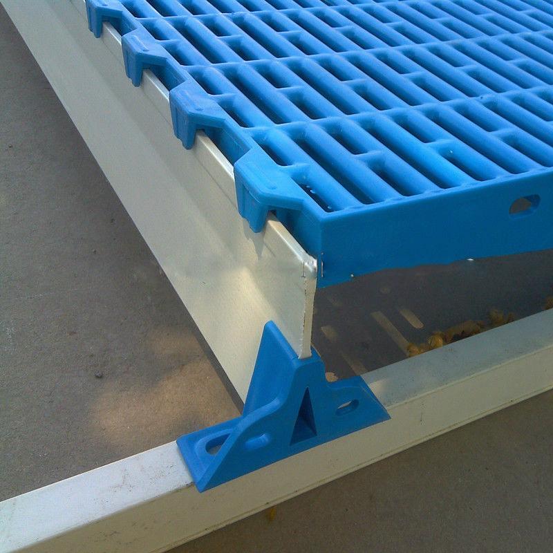 600mm 600mm Plastic Slat Floor For Pig Farm Goat Floor