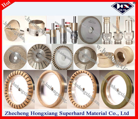 BD/BK wheel for glass polishing diamond polishing wheel