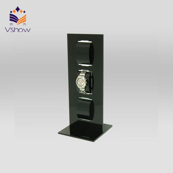 WT-B243 Floor Standing 3 Tiers Acrylic Cabinet /wrist Watch Showcase Stands/hello Kitty Watch Display Cases