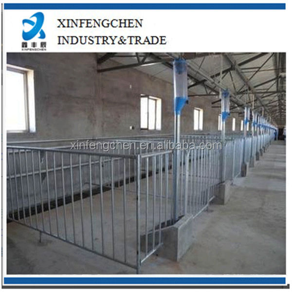 Hot dippd galvanized fatten stall/ crate for pigs