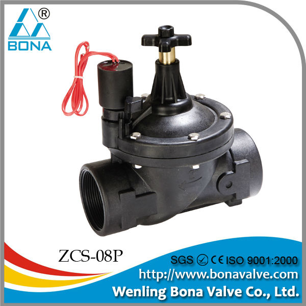 "China Manufacturer Bona Valve Mini Irrigation Solenoid Valve 1/8"" jay"