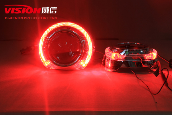 Vision Led Angel eyes bi-xenon hid projector lens HID projector lens