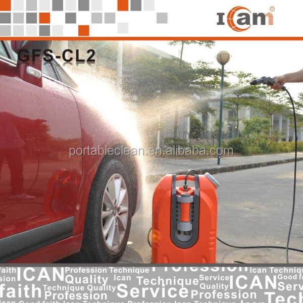 75W 12V portable Car Washer With High Pressure Car Washing Machine
