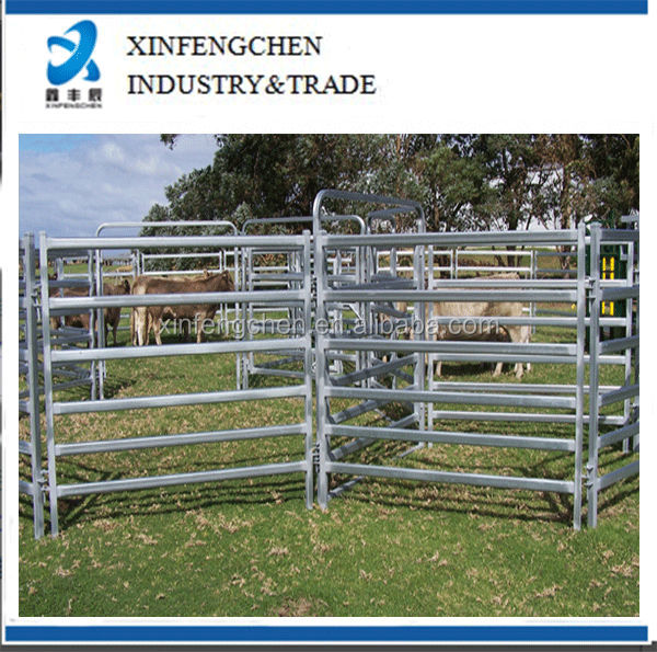 Hot dipped galvanized livestock cattle horse panels