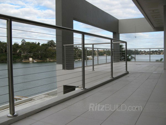 Housing building material railing safety stainless steel