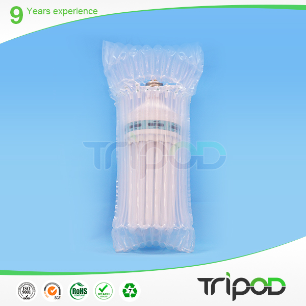 Wine Bottle Fragile Packaging Air Bag Plastic