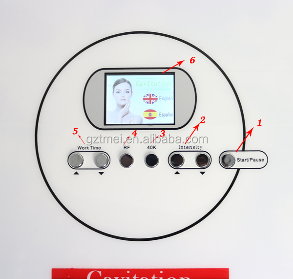3 in 1 tripolar radio frequency cavitation ultrasound therapy machines