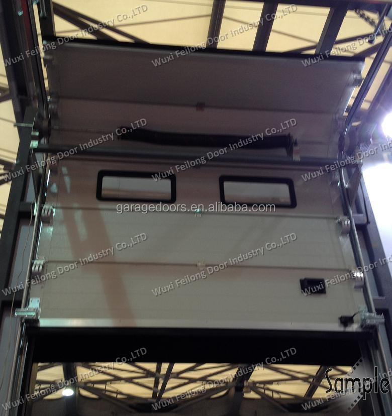 Sectional Industrial Door -- Overhead; High Lifting, Vertical Uplifting Available