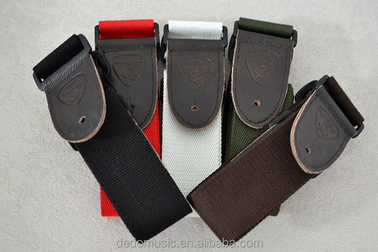 high quality soldier guitar strap