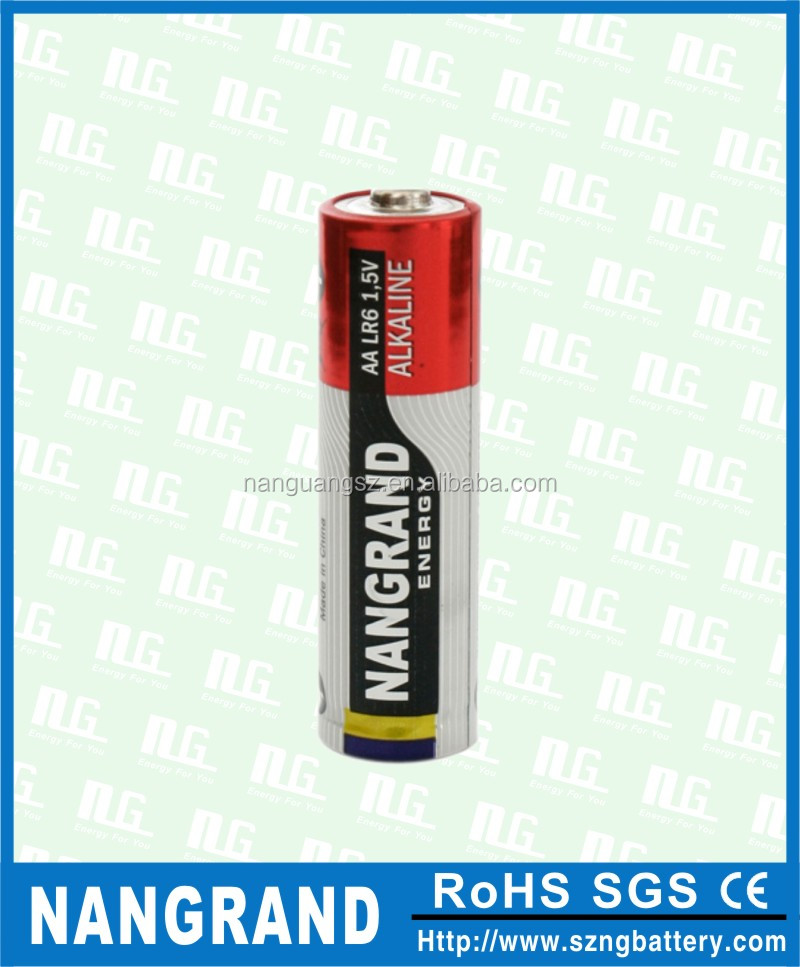 super alkaline LR6 aa battery