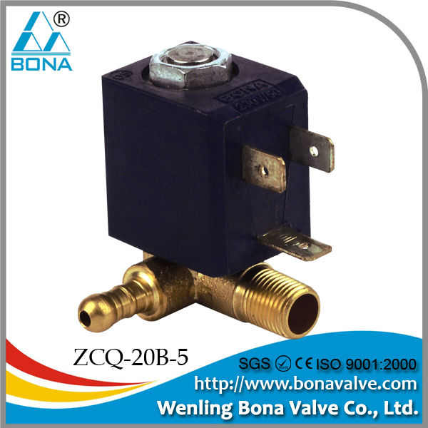 gas, air, water, steam solenoid valve 24v (ZCQ-20B)