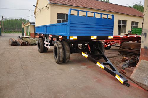 Heavy Duty Tractor Trailer : Two axle wheels heavy duty farm trailer tons tractor