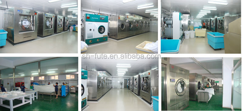 Professional Industrial washing machine from 15kg to 500kg