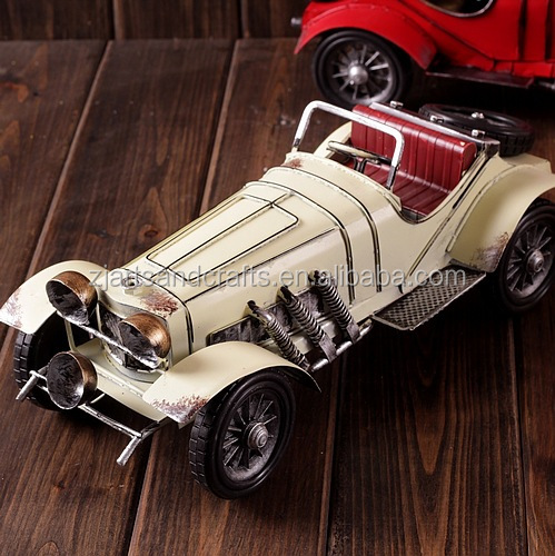 Ford toy car model for cafe bar decorations