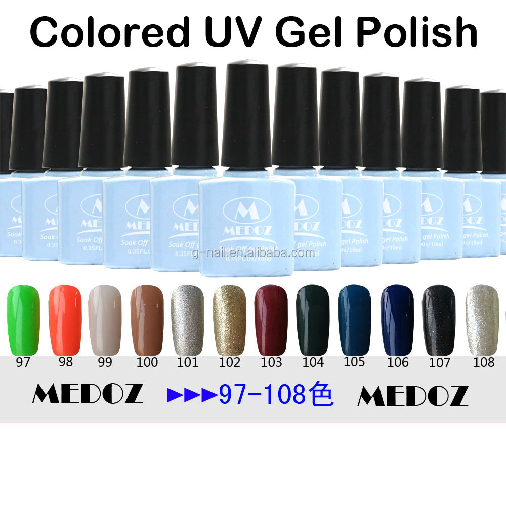 2014 HOT nail art Colored UV Gel Polish,15ml/1KG soak off/ON-Step soack off color uv gels,120 fashion colors NO. 25-49