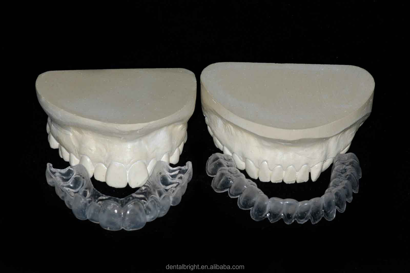 how to clean whitening trays