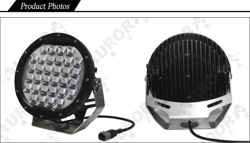 "AURORA Brightest Truck 9"" Round 96W 4x4 LED Driving Lights"