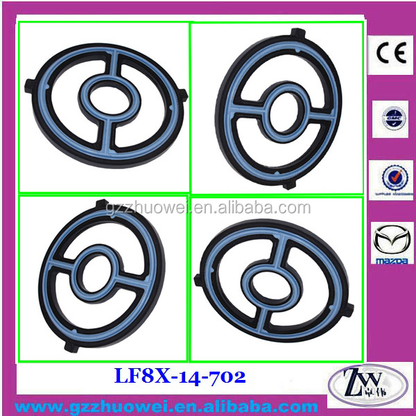 Engine Oil Cooler Seal Gasket For Mazda Engine 3 5 6 Cx 7: Mazda Car Parts Rubber Oil Cooler Gasket Seal For Mazda