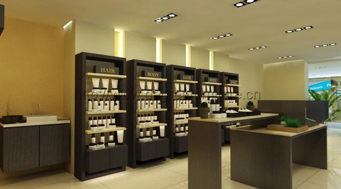 Unique Modern Retail Cosmetic Shop Showroom Interior Design View Showroom Interior Design Ding