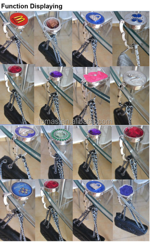 Guangzhou high quality promotional bag hangers